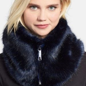 🍒NWT🍒 TED BAKER FAUX FUR COLLAR